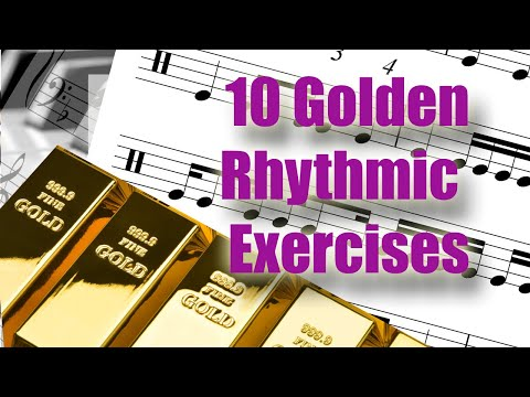 10 Golden Exercises to Learn to Read Rhythms