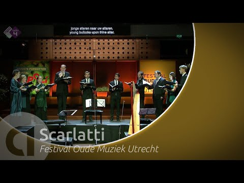 Songs by two Scarlatti's - Vox Luminis led by Lionel Meunier - Early Music Festival 2019 - Live HD