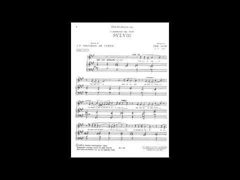 Erik Satie ~1886~ Trois Mélodies : 3. Sylvie