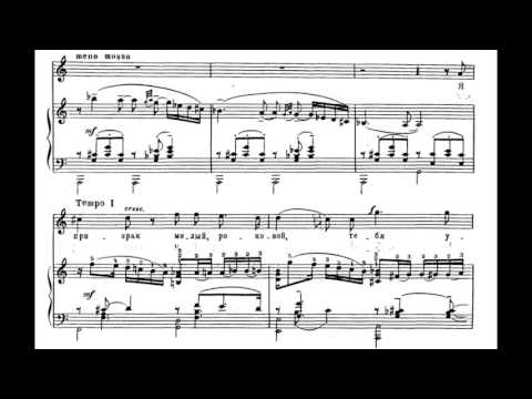 Rachmaninoff - Six Romances Op. 4