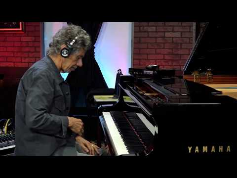 """Chick Corea Plays """"Spain"""" (Tutorial with Overhead Camera and Transcription)"""
