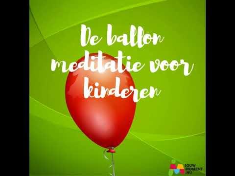Ballon meditatie. Ademhalingsoefening voor kinderen
